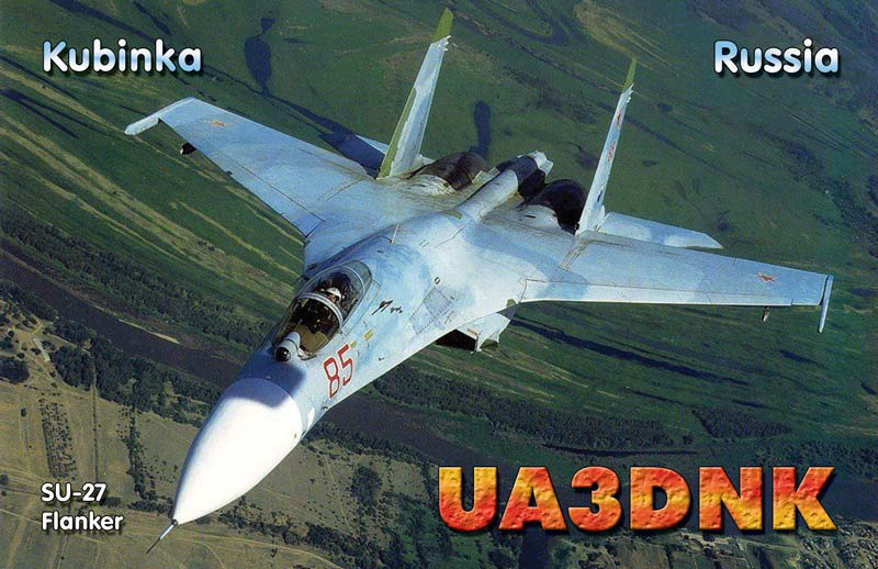 QSL image for UA3DNK