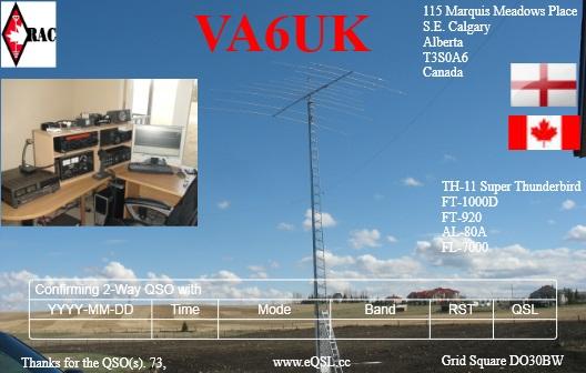 QSL image for VA6UK