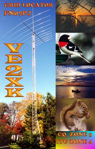 QSL image for VE2XK
