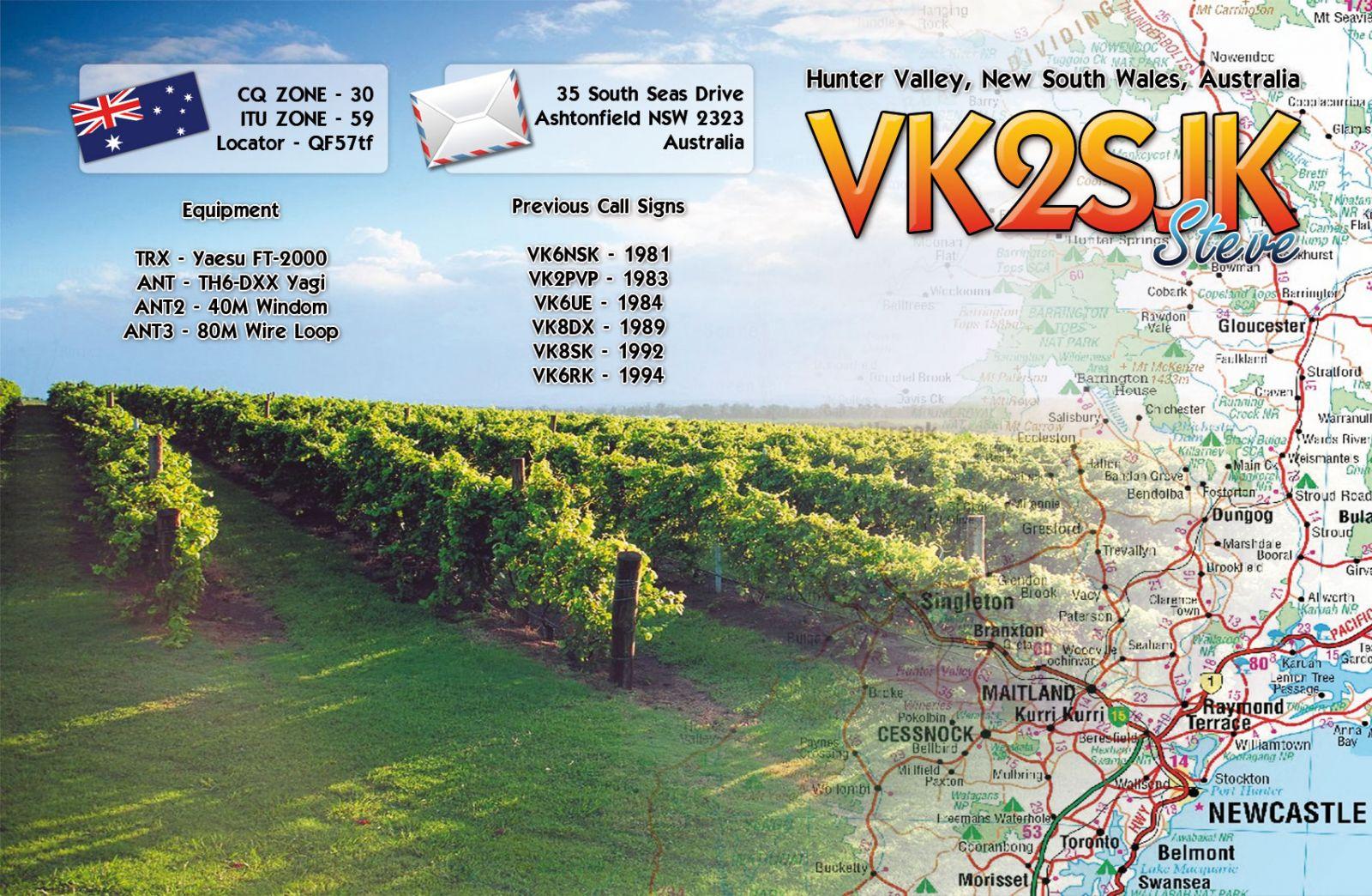 QSL image for VK2SJK