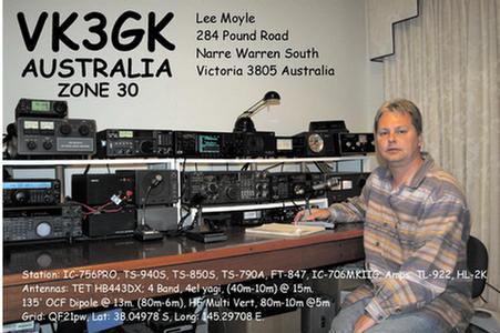QSL image for VK3GK