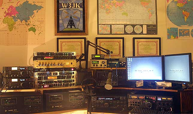 QSL image for W3JK