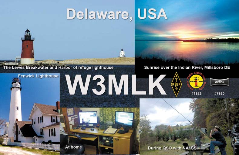 QSL image for W3MLK