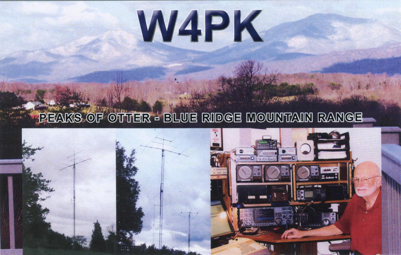 QSL image for W4PK