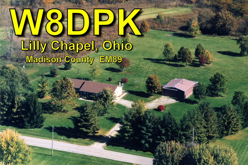 QSL image for W8DPK