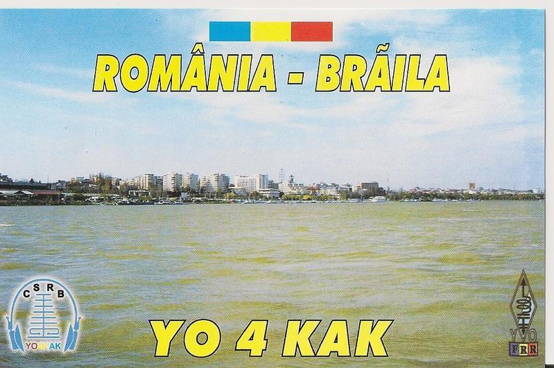 QSL image for YO4KAK