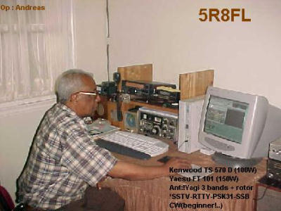 QSL image for 5R8FL
