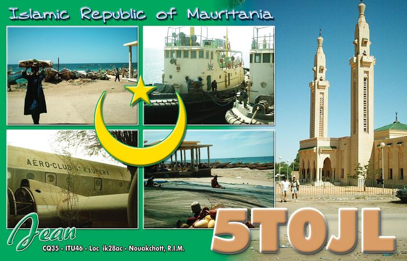 QSL image for 5T0JL