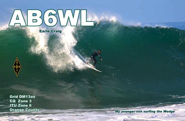 QSL image for AB6WL