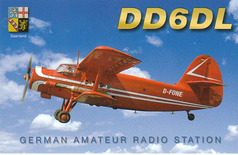 QSL image for DD6DL