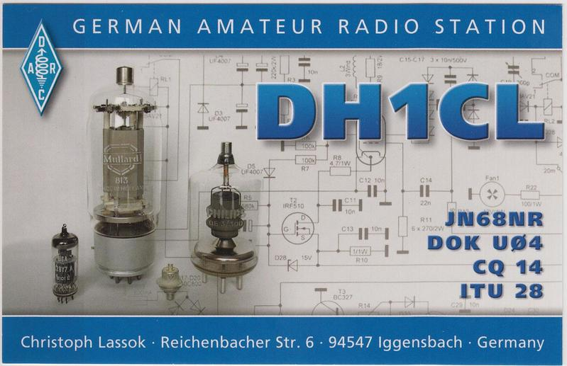 QSL image for DH1CL
