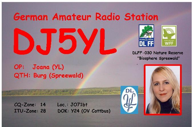 QSL image for DJ5YL