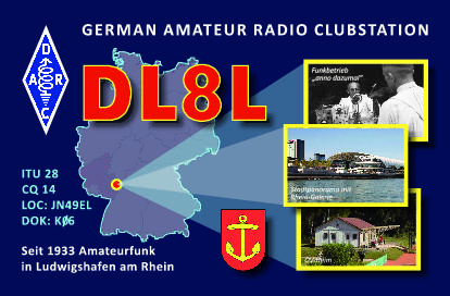 QSL image for DL8L