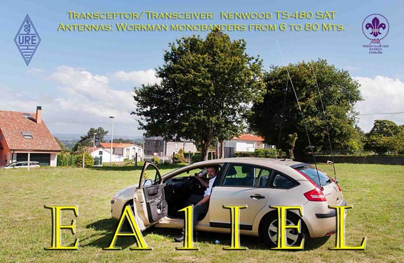 QSL image for EA1IEL