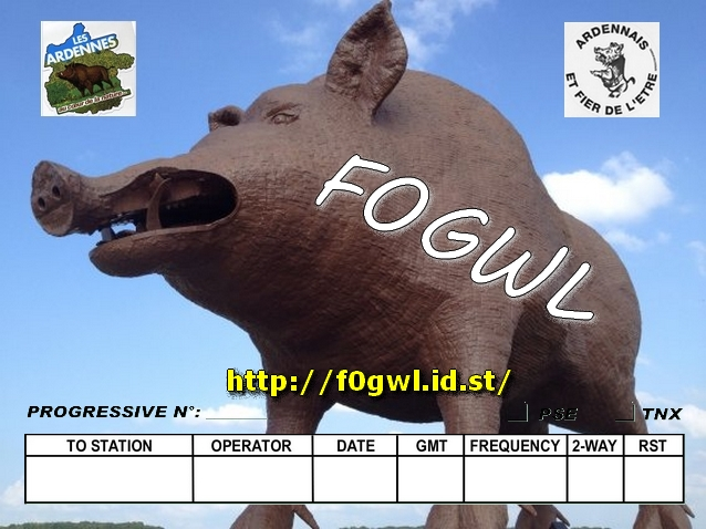 QSL image for F0GWL