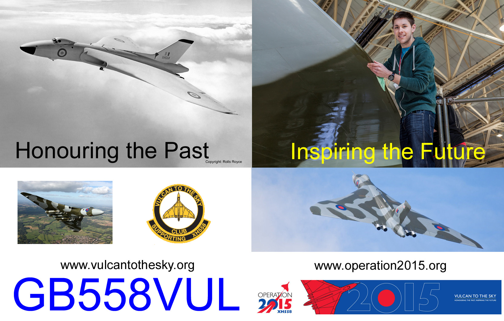 QSL image for GB558VUL