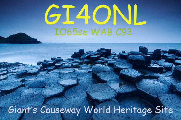 QSL image for GI4ONL
