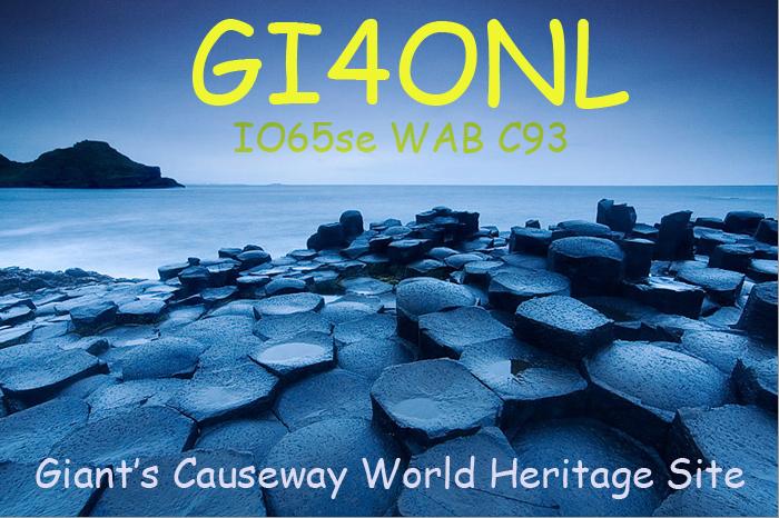 QSL image for GI4ONL