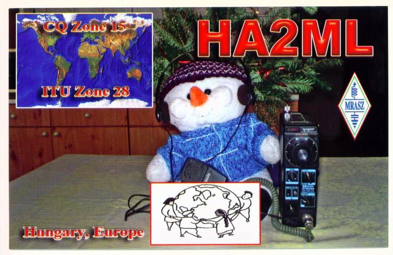 QSL image for HA2ML