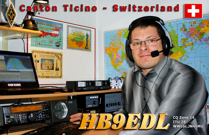 QSL image for HB9EDL