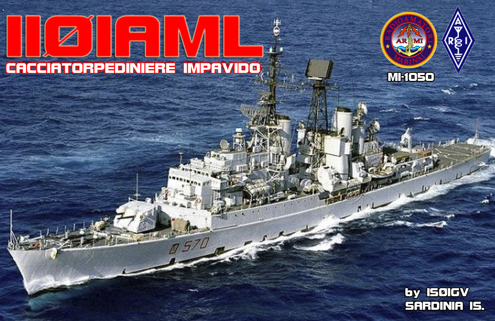 QSL image for II0IAML