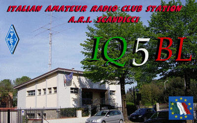 QSL image for IQ5BL