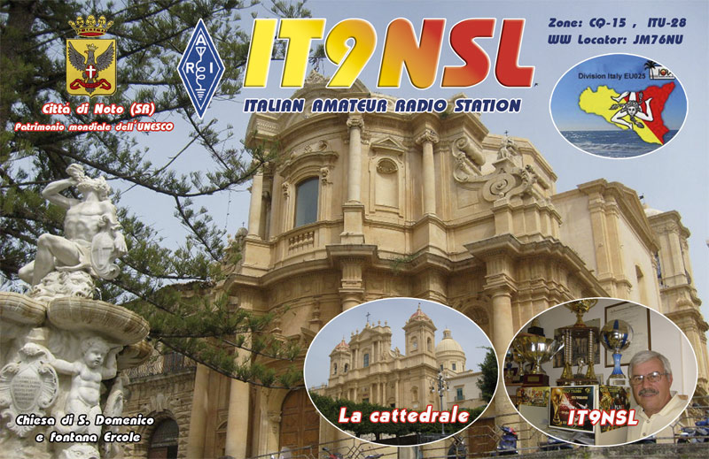 QSL image for IT9NSL