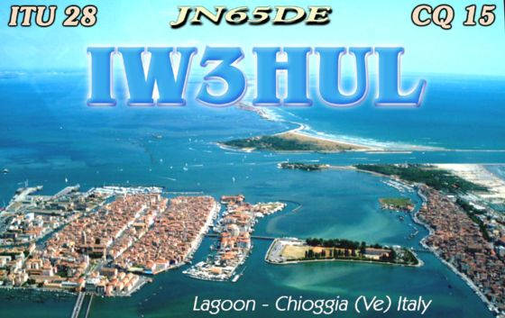 QSL image for IW3HUL