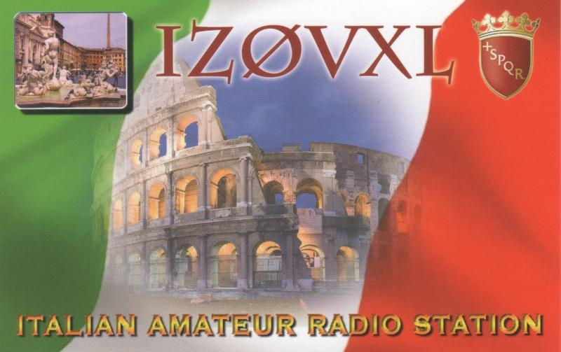 QSL image for IZ0VXL