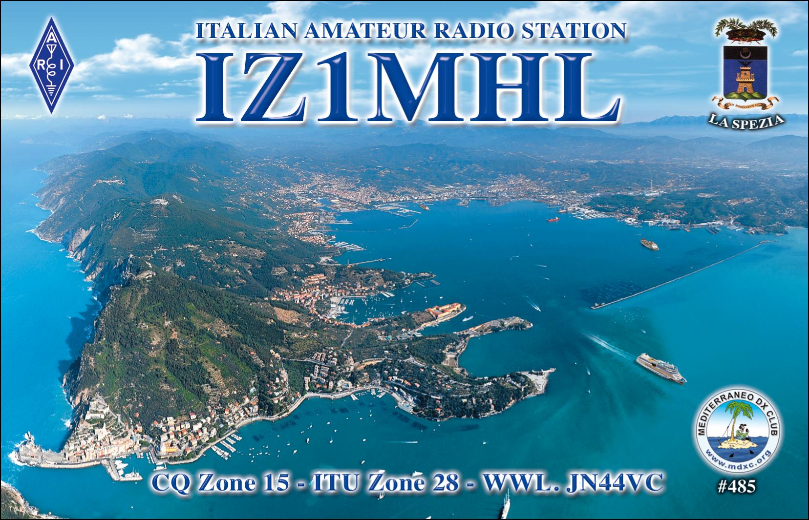 QSL image for IZ1MHL