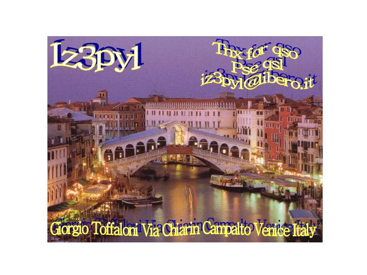 QSL image for IZ3PYL