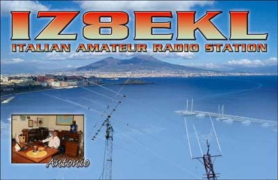 QSL image for IZ8EKL