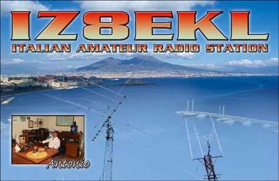 QSL image for IZ8EKL