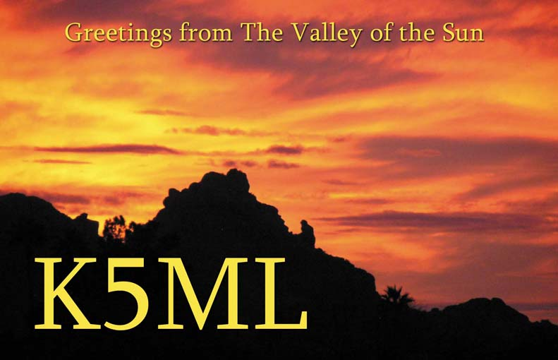 QSL image for K5ML