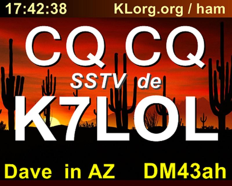 QSL image for K7LOL