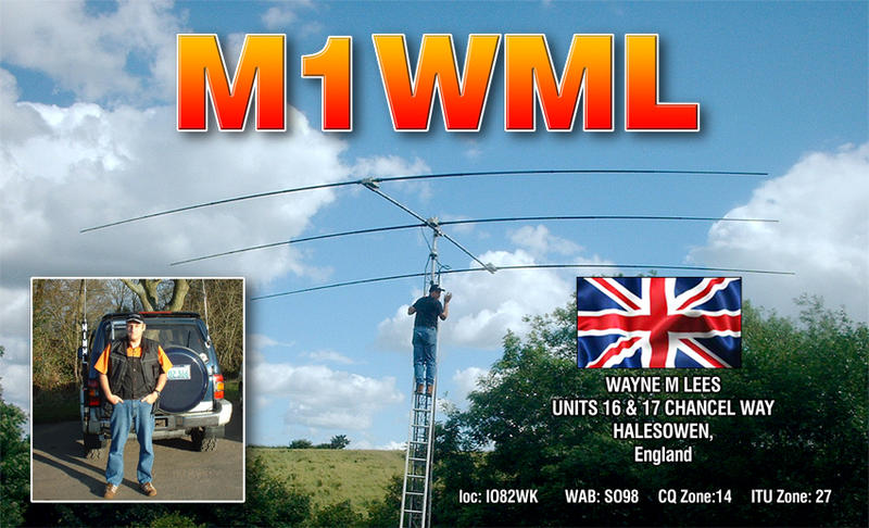 QSL image for M1WML
