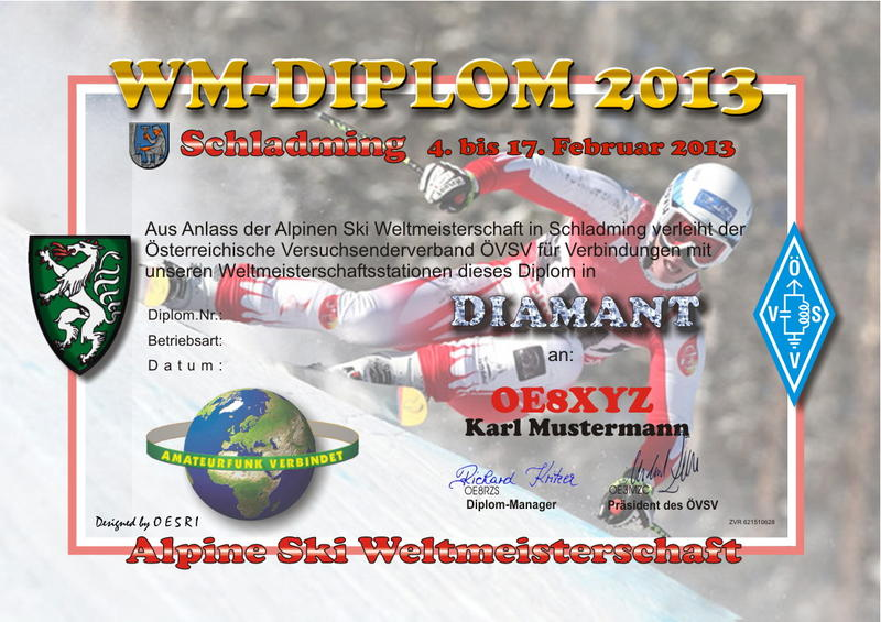 QSL image for OE2013CAL