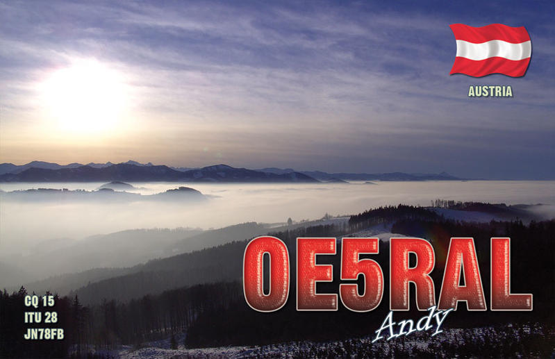 QSL image for OE5RAL