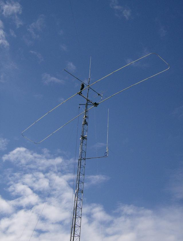 my antennas - 2elem ultrabeam + 9elem DL6WU for 144MHz
