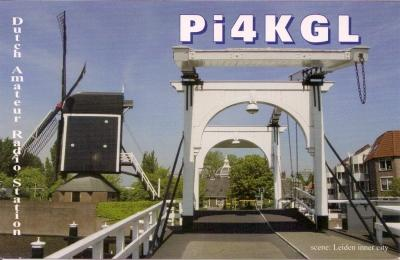 QSL image for PI4KGL