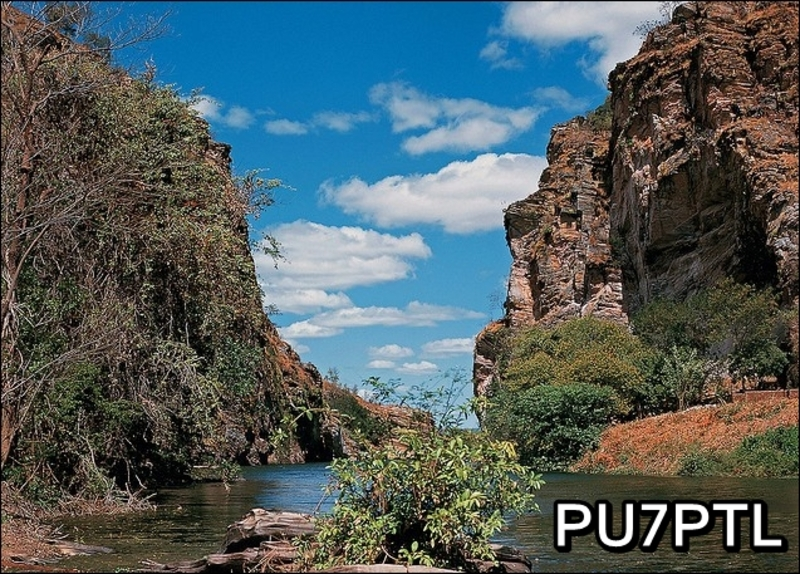 QSL image for PU7PTL