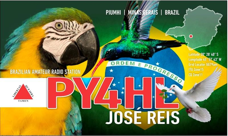 QSL image for PY4HL