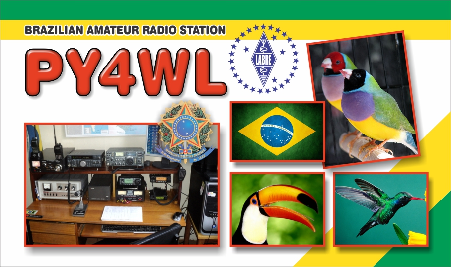QSL image for PY4WL