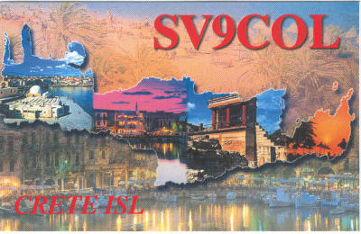 QSL image for SV9COL