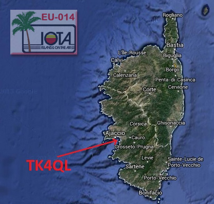 Tk4ql corsica on 40m lsb jj5izx for Buro ajaccio