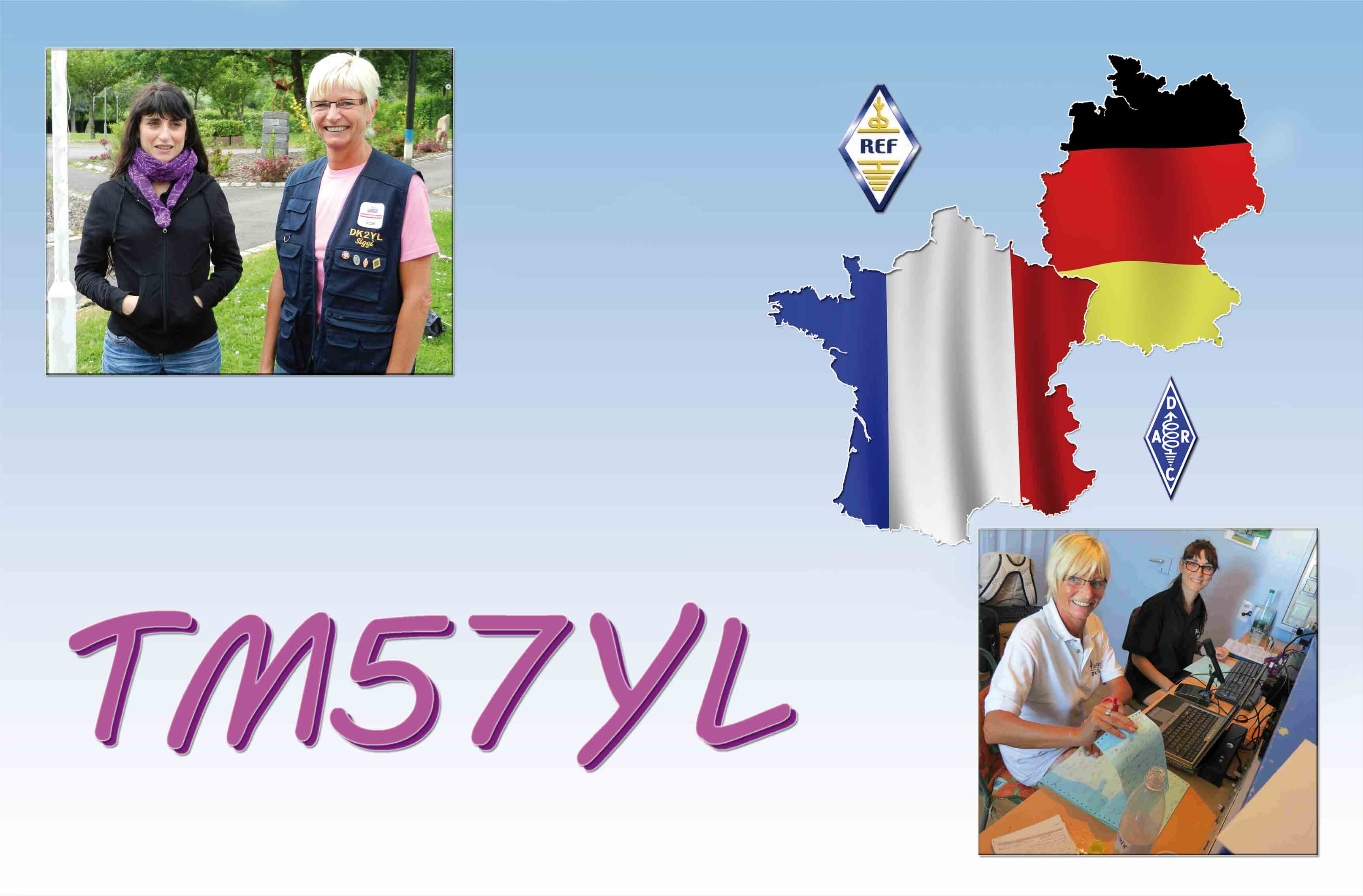 QSL image for TM57YL