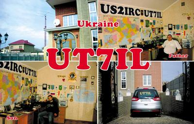 QSL image for UT7IL
