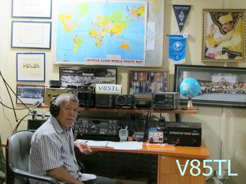QSL image for V85TL
