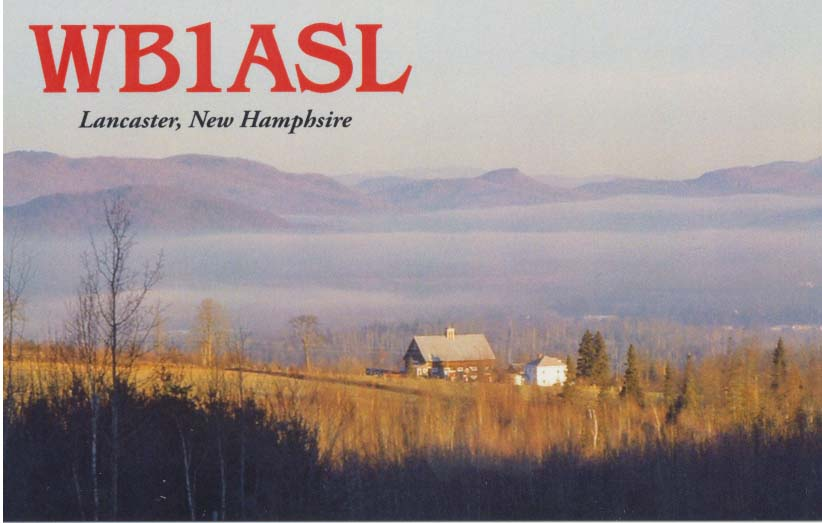 QSL image for WB1ASL