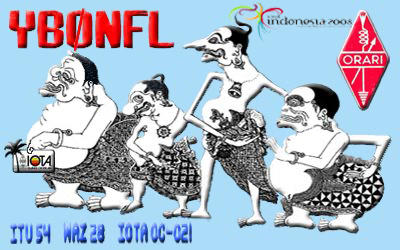 QSL image for YB0NFL